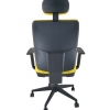 silla de oficina con cabezal